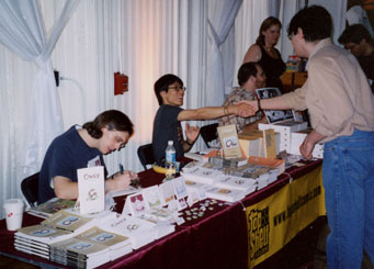 Andy Runton, Derek Kirk Kim, and Alex Robinson